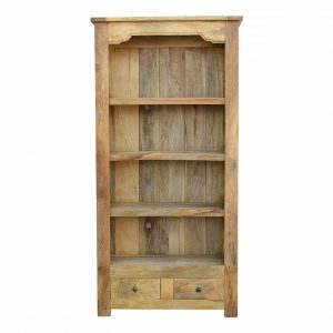 Mango Bookcase 2 Drawers HASB312