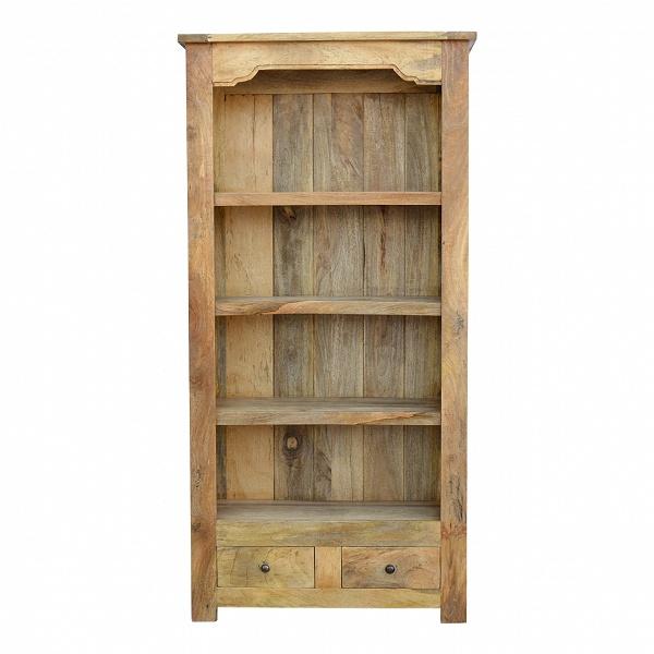 Mango Bookcase 2 Drawers HASB312