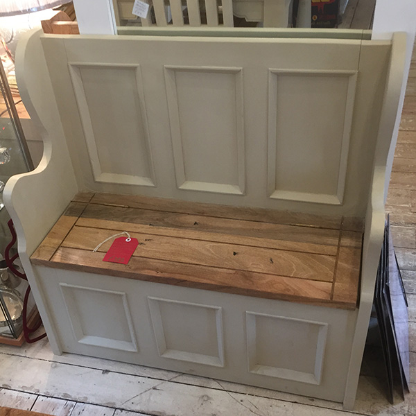 Mango Painted Monks Bench