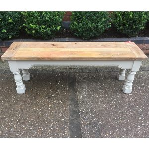 Mango Painted Dining Bench